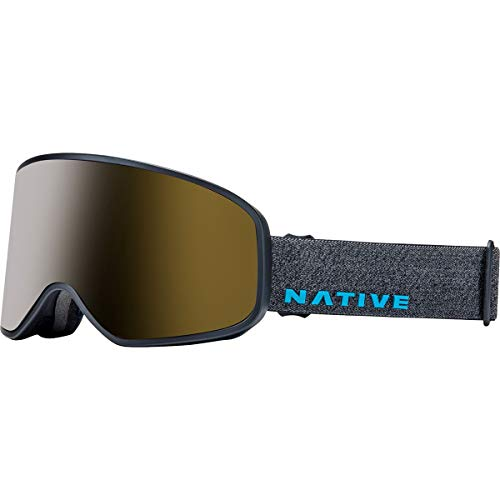 Native Eyewear Tenmile Goggles Gray Tweed/Snow Tuned Silver, One Size