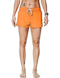 fc97899c72 Women's Beach Shorts Quick Dry Soild Lightweight