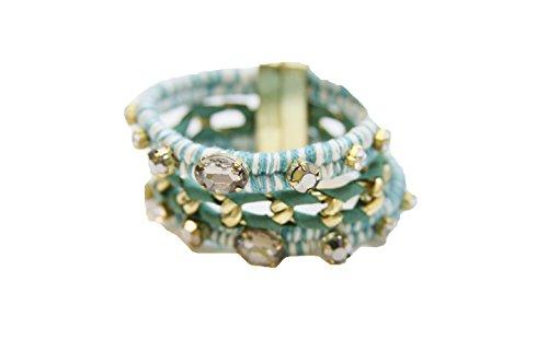 Jolie USA Turquoise Novella Magnetic Bracelet ()