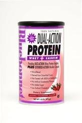 UPC 743715016125, BlueBonnet 100% Natural Dual Action Protein Powder, Strawberry, 1.05 Pound