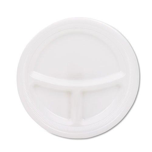 - Centerpiece Compartment Foam Plates, 9