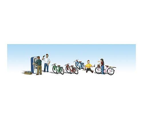 WOODLAND SCENICS Bicycle Buddies WOOU2194