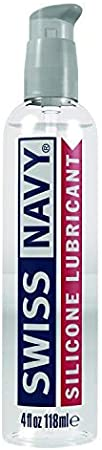 Swiss Navy Premium Silicone-Based Personal Lubricant & Lubricant Sex Gel for Couples, 4 oz.