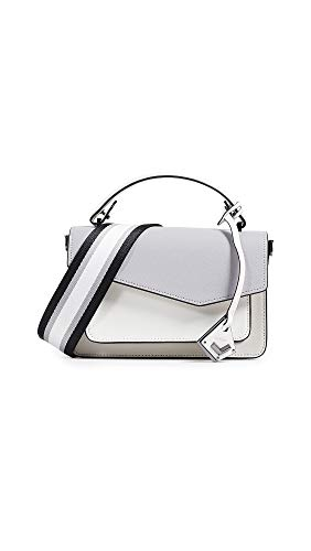 (Botkier Women's Cobble Hill Crossbody Bag, Dove Colorblock, Off White, Grey, One Size)