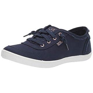 Skechers BOBS Women's Bobs B Cute Sneaker, NVY, 6 M US