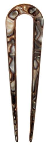 France Luxe Skinny Flex Chignon Pin - Onyx ()