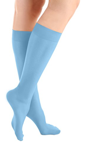 Microfiber Knee High Skating Tights