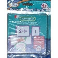 Read Online Subtraction Pocket Chart Cards PDF