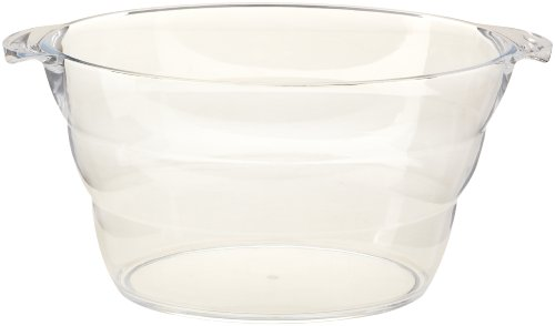Prodyne AB-16 Acrylic Wine Party Tub, Clear