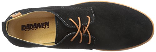 DADAWEN Mens Classic Suede Leather Oxford Dress Shoes Business Casual Shoes Black pClLPdG8F
