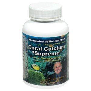 Bob Barefoot'S Coral Calcium Supreme, 3 Count (Barefoot Coral)
