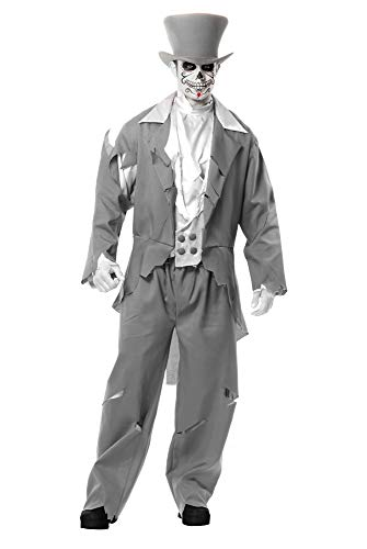 Charades Men's Ghost Groom, as as Shown,