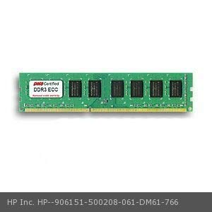 DMS Compatible/Replacement for HP Inc. 500208-061 ProLiant ML110 G6 Entry 1GB DMS Certified Memory DDR3-1333 (PC3-10600) 128x72 CL9 1.5v 240 Pin ECC DIMM - DMS ()