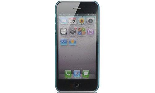 Hard Case für Apple iPhone 5 G 5G Cover Schutz Hülle Handy Schale Blu#3D