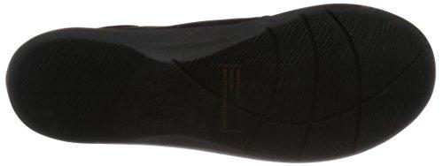 Clarks Détente Femme Chaussures Sillian Tino En Textile Noir