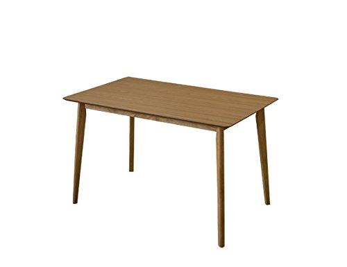 VELAダイニングテーブル 120cm幅 天然木製 ナチュラルPMB-120NA B06Y5WXNQ8