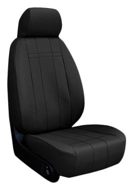 custom fit chevy cruze seat covers 2011 2016 front seat set in leatherette black buckets w. Black Bedroom Furniture Sets. Home Design Ideas