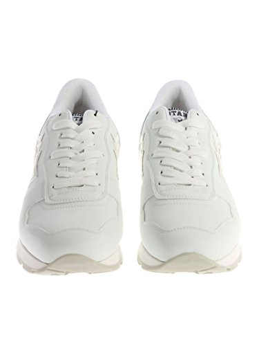 Atlantische Sterren Herren Antarvsc86b Weiss Leder Sneakers