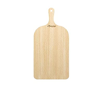 Pizza Peel Wood Paddle Board Tray, Pizza Maker Serving & Cuting