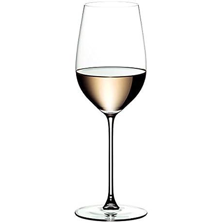 Riedel Veritas Leaded Crystal Riesling Wine Glass Set Of 6