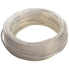 PneumaticPlus 1/4-Inch Clear Tubing 100Foot Roll for Air Compressor/Garden WOG Water Oil Gas