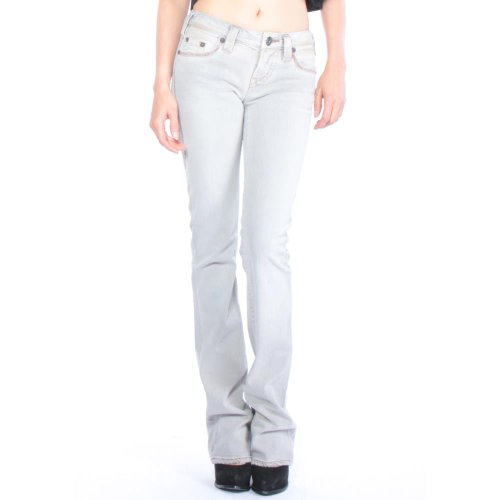1921 LS66-SNK Regular Straight Jeans 24/34 Grey (1921 Denim Jeans)