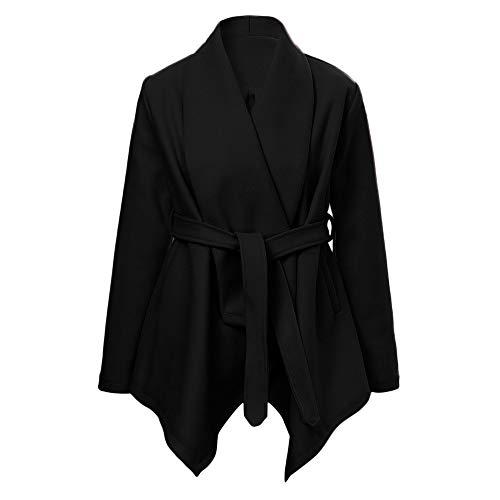 Blouson Mode Sweatshirt Tops Chaud Veste Longues Noir nbsp; À Hiver Capuche Revers Shobdw Manches Hoodie Manteau Pullover Casual Femme Blouse awtxqg