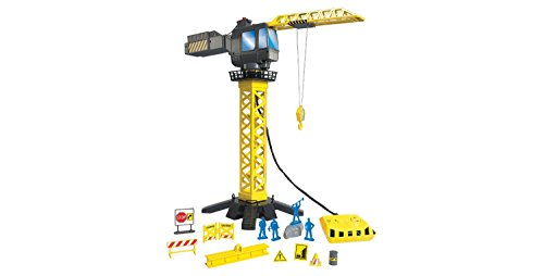 DISCOVERY KIDS 20 PC SET 360 DEGREE ACTION CONSTRUCTION CRANE (Crane Construction Set)