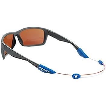 30c4e5e25c7 Pilotfish No Tail Adjustable Eyewear Retainer - Sunglass Holder Strap - Sunglasses  Retainer (Freedom