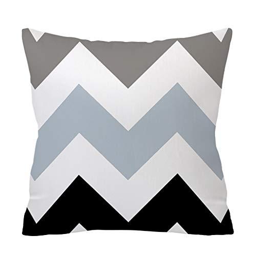 New Fashion Stripe Pillow Case Sofa Waist Throw Cushion Pillow Cover Home Decor