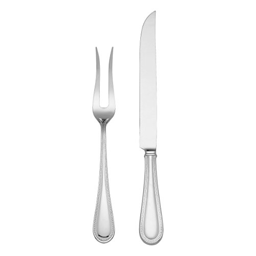 Reed & Barton 04230884 Lyndon 2-Piece Carving Set with Carving Fork and Carving Knife