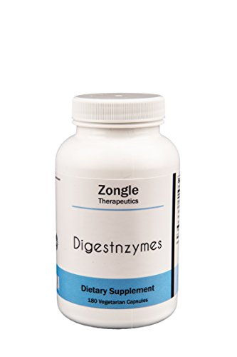 Cheap Zongle Therapeutics – Digestnzymes – 180 Vegetarian Caps – Betaine HCL, Peptidase, Pepsin, Protease, Lactase and more