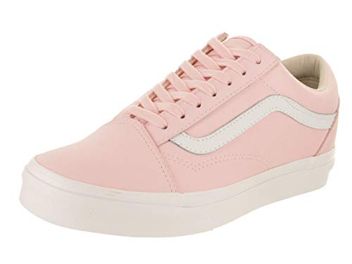 Vans Buck Old Skool Unisex Womens Skateboarding-Shoes VN-0A38G1U5W_7.5 - Pink/True White
