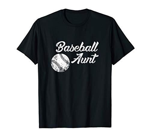 Baseball Aunt Baseball Shirt, Cute Funny Lingo Player Fan