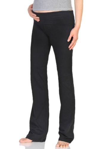 876ed4e51c39a Beachcoco Women's Maternity Fold Over Comfortable Lounge Pants ...