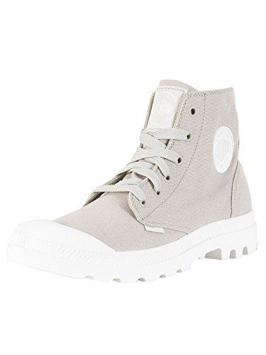 Adulto – Palladium Hi Pampa Sneaker Collo Blanc Unisex Grigio Alto a z8ZqzO