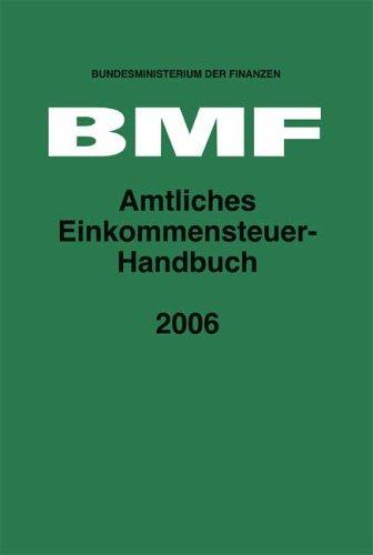 Amtliches Einkommensteuer-Handbuch 2006
