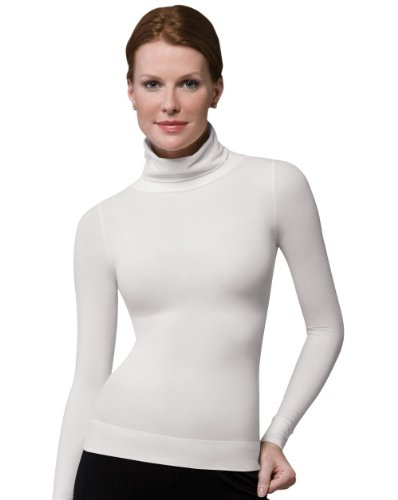 00ecccb01fbe2 Amazon.com  SPANX On Top and in Control - Long Sleeve Shaping Turtleneck   Clothing