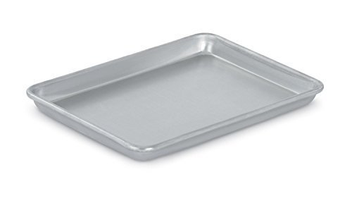 Vollrath (5220) Wear-Ever Collection Quarter-Size Sheet Pans, Set of 2 (9 1/2-Inch x 13-Inch, Aluminum)