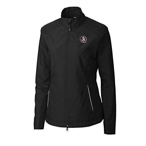 (NCAA Florida State Seminoles Adult Women CB Weathertec Beacon Full Zip Jacket, Medium, Black )