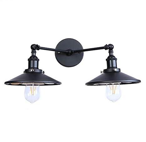Lampadaire Retro Noir Salon Lampes Miroir Industriel Retro