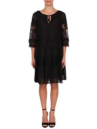 6226294e4eae blugirl Damen 568500140 Schwarz Polyester Kleid HTpSBrwZ ...
