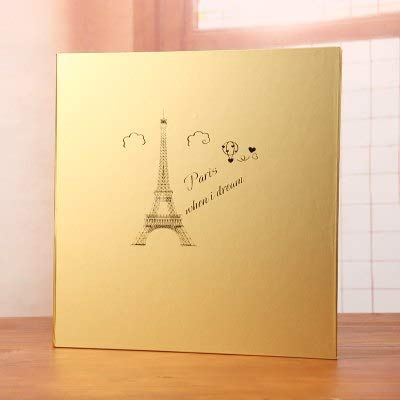Vivona 18 inches Large This DIY Photo Album self-Adhesive Coated Type Series Leather Family Business Album can Stick A4 Paper - (Color: See Chart)