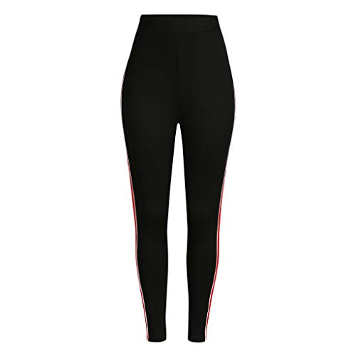 Womens Yoga Pants,Plus Size Sequined Elastic Fitness Sports Leggings Yoga Athletic Pants(XL,XXL,XXXL,XXXXL,XXXXXL,Red)