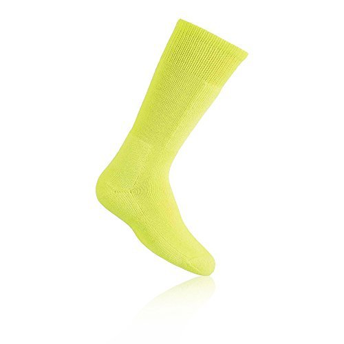 Thorlos Kids KS Snow Padded Over the Calf Sock, Yellow, Small by thorlos