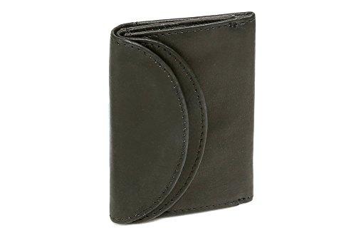 LEAS Minibörse Echt-Leder, schwarz Mini-Edition