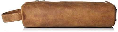 Timberland Men's Crazy Horse Genuine Leather Cord Case