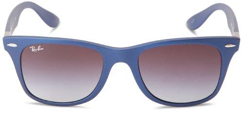 Ray-Ban WAYFARER LITEFORCE - BLUE Frame GREY GRADIENT Lenses 52mm Non-Polarized