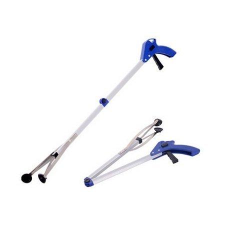 Richoose, Erweiterung Light Weight Grabber Arm Wurf Picker Klaue Pick Up Müll helfende Hand-Werkzeug Erreichen Mobility-Tool, Blau