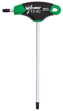 para tornillos TORX TX Made in Germany Juego de llaves Torx Destornillador TORX/® 70501 T15 2K con mango en T